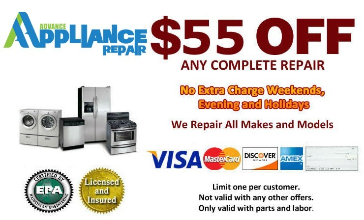 appliance service coupon